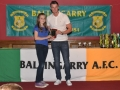 Under 12 LDSL Gaynor Cup squad member Orla Doherty
