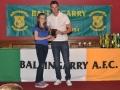 Under 12 LDSL Gaynor Cup squad member Orla Doherty