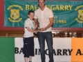 Under 10 A Player of the year Michael Molloy