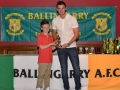 Under 12 Player of the year Adam Long