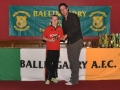 Under 12 top scorer Mark Hayes