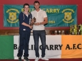 Under 13 Player of the year Sean O'Connor