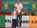 Under 8 Player of the Year Jack Mullane