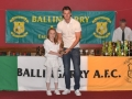 Under 10 Girls player of the year Anna Mullane