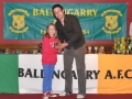 Under 10 Girls top scorer Sarah Hayes