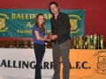 Under 12 girls top scorer Orla Doherty