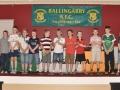 Under 11 cup winning squad