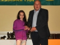 Aimee O'Keeffe Under 12 Girls Player of the Year