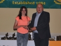 Eimear Gavan Under 14 Girls most improved player