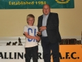 Reece Kelly Under 12 A Player of the Year