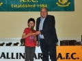 Sam Faughnan Under 10 B Player of the Year