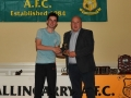Sean O'Connor Under 15 Player of the Year
