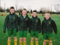 Ballingarry under 12 team members: Niall Kennedy, Kevin Forde, Brian Healy, Kevin Moynihan.