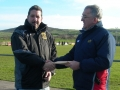 Benji Kelly winner of FAI Cup Final Tickets, Sligo Rvs v Shamrock Rvs 14-11-10