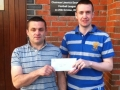 Derry Murphy won tickets for Scotland game, 29-5-11