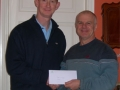 James Higgins winner of tickets for Ireland v Macedonia at the Aviva Stadium on 26-3-11