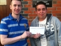 Mike O'Neill won tickets for Wales v Scotland game, 25-5-11