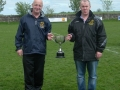 Managers Pascal Moynihan and John Clancy