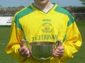 Top scorer Dean Clancy with 10 goals