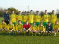 Ballingarry AFC Cup Final squad