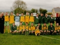 The Ballingarry AFC youth squad and management prior to the Desmond Youth Cup Final 2002.