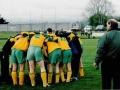 Ballingarry AFC youth team engage in a huddle prior to kick-off.