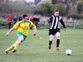 Rob Hannon battling for possession