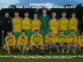 Youth Division 1 and Cup double winners 2010/11