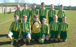 Ballingarry Under 12 B team