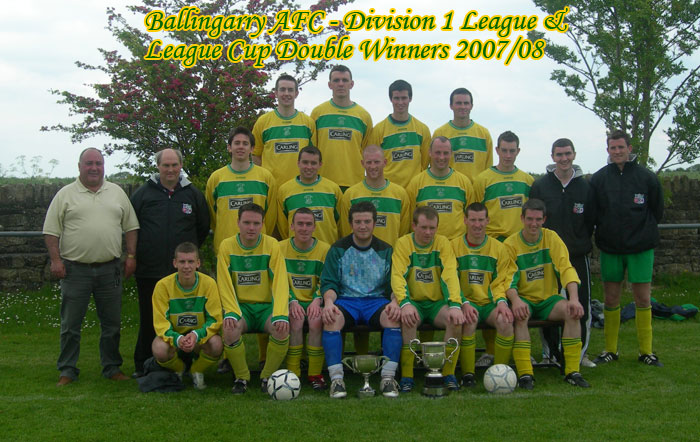 Ballingarry AFC - Double winners 2007-08