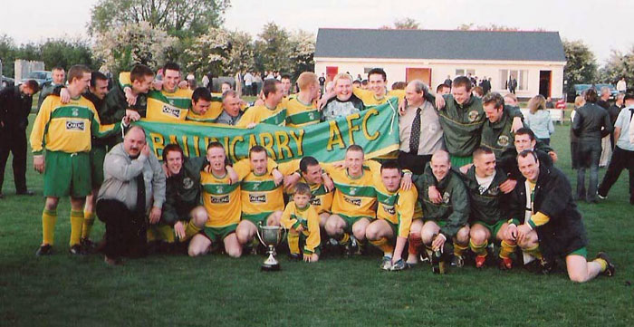 Ballingarry AFC - Premier Division winners 2003/04