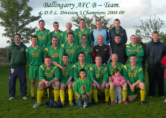 League Division 3 winners 2008/09
