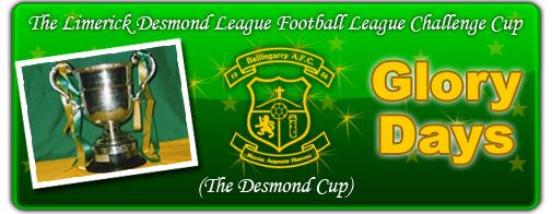 Desmond Cup Glory